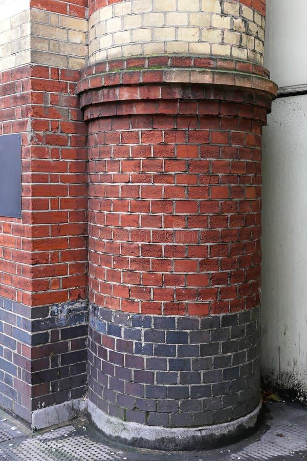 Download Round brick column stock image. Image of house, brick - 35588895