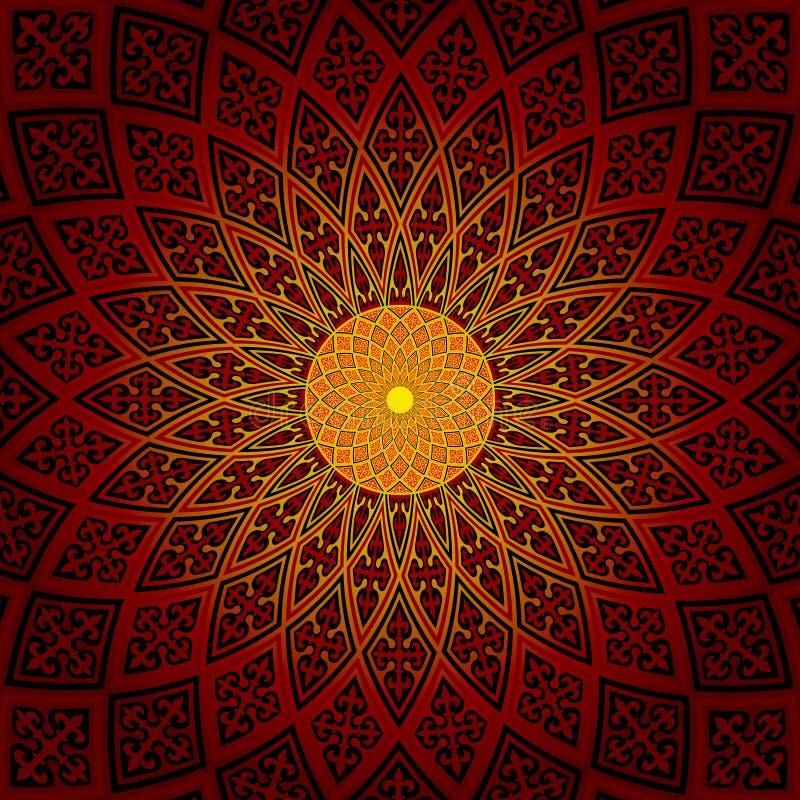 Round brillant pattern stock photo
