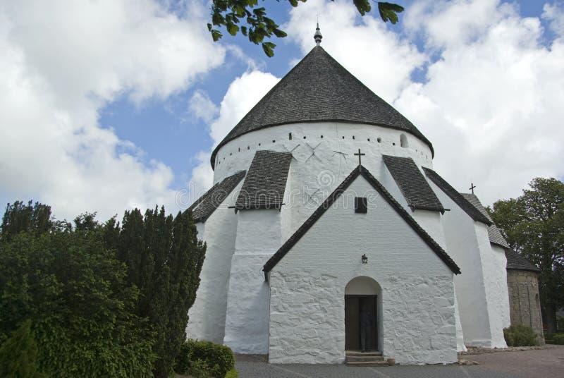 Round church stock photography