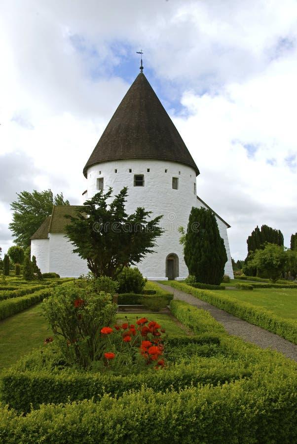 Round church royalty free stock photo