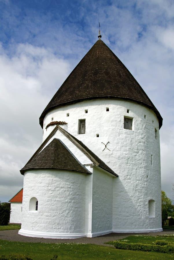Round church stock photo