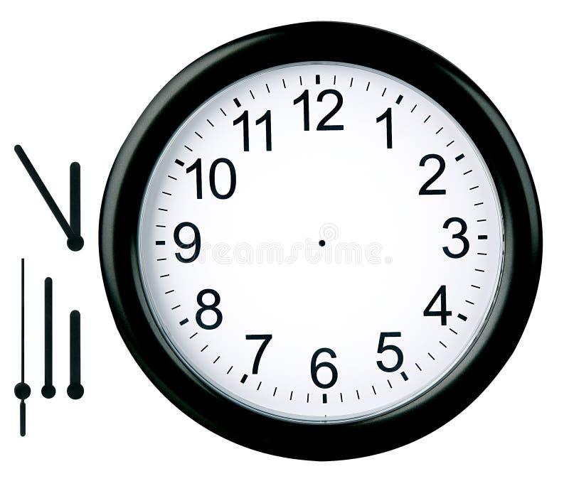 Download Round clock isolated stock illustration. Illustration of deadline - 468755