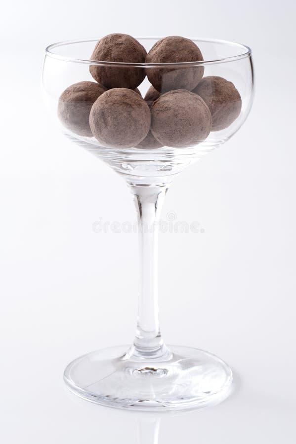 Round czekolada obrazy royalty free