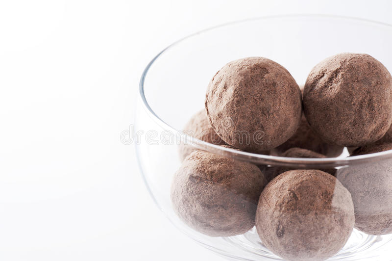 Round czekolada zdjęcie stock