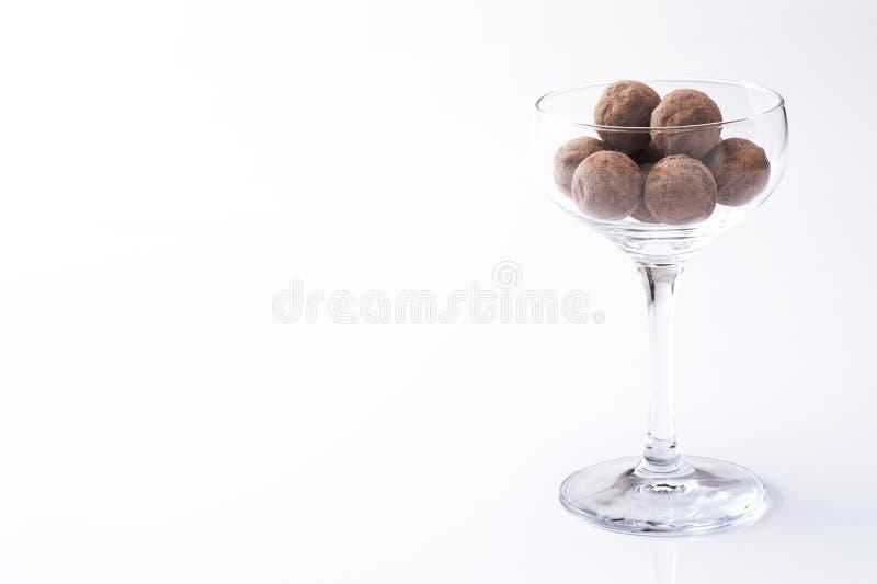 Round czekolada zdjęcie royalty free
