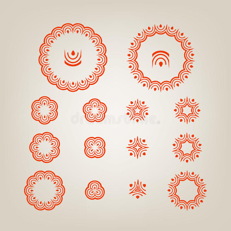 Download Round Decorative Shapes Stock Photography - Image: 28528502