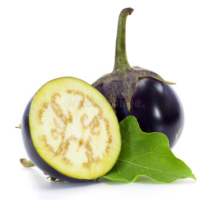 Download A Round Eggplant Stock Images - Image: 25998084