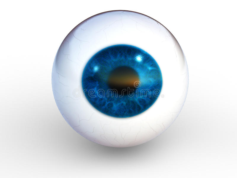 Round eye stock illustration