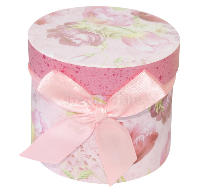 Download Round Floral Gift stock photo. Image of package, path - 15276806