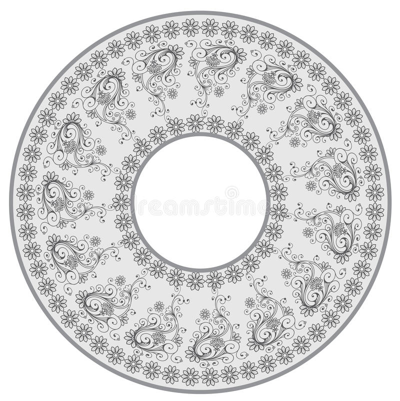 Download Round frame stock illustration. Image of retro, element - 24753529