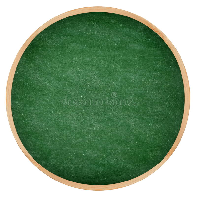 Download Round Green Chalkboard Or Blackboard Circle Stock Images - Image: 28071174