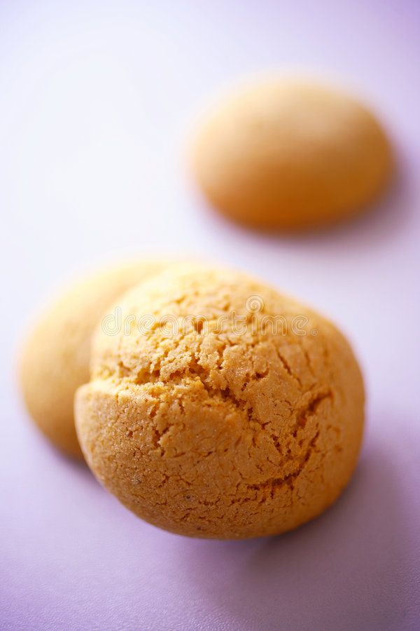 Download Round honey cookies stock photo. Image of decorated, dish - 7678180