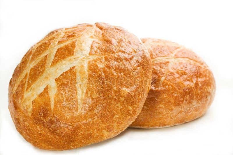 Round Italian Loaf royalty free stock photos