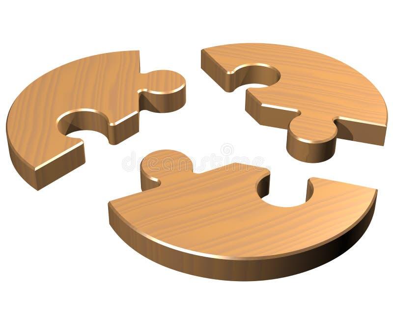 Round jigsaw