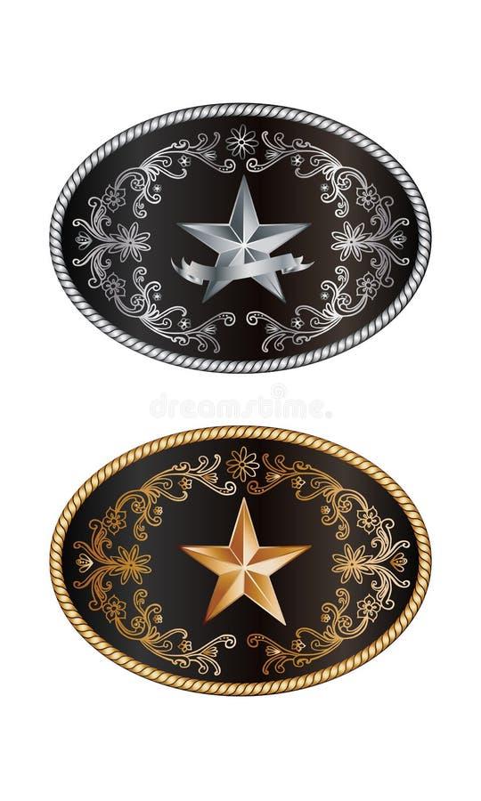Round klamra royalty ilustracja