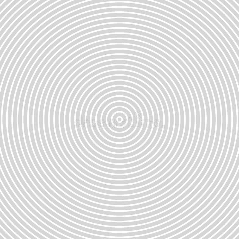 Round Lines. Spiral. Volute. Circular Rotating stripes Background. Vector Illustration. stock illustration