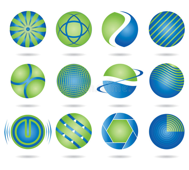 Download Round Logos Royalty Free Stock Images - Image: 15109669