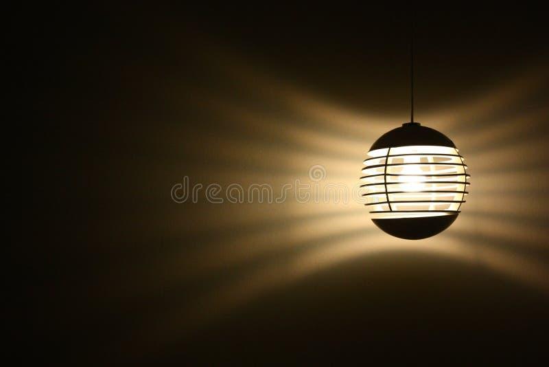 Round mody lampa fotografia royalty free