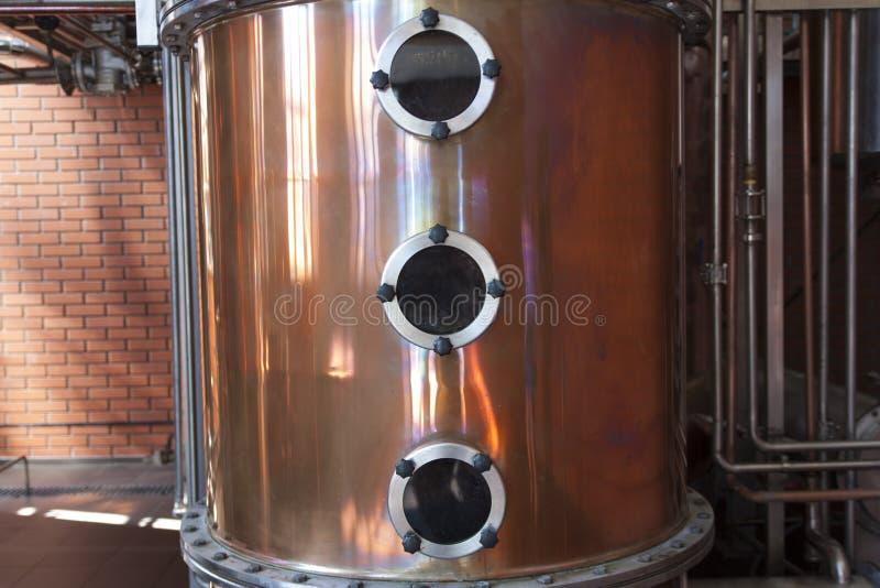 Round nadokienny porthole na metalu tła fotografii fotografia stock