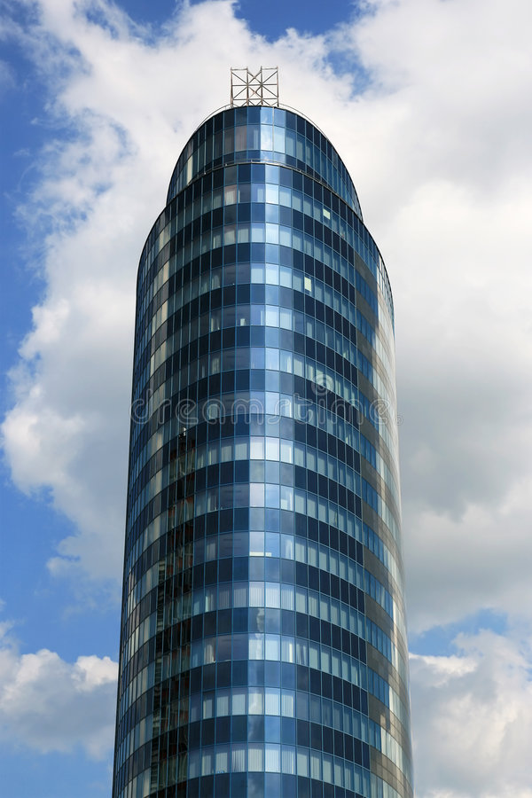 Free Round Office Building Royalty Free Stock Photos - 5259328