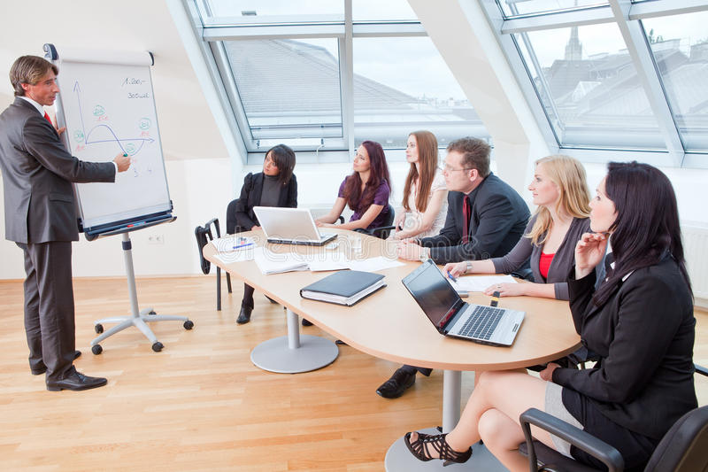 Download Round office table stock photo. Image of assistant, businesswoman - 14866318
