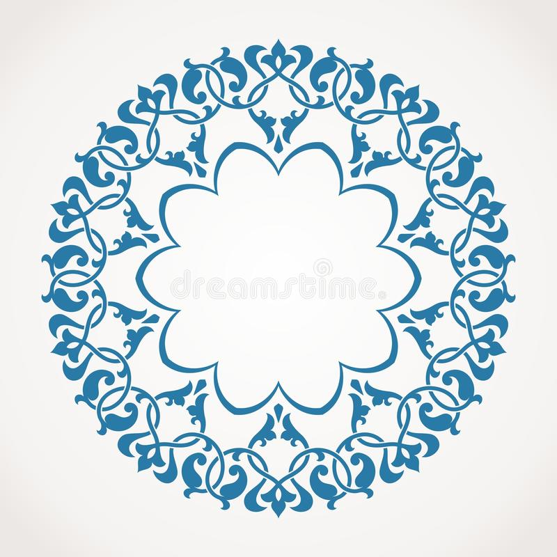 Free Round Ornament Pattern. Royalty Free Stock Image - 36462786