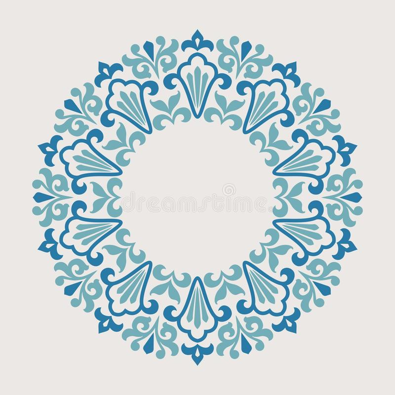 Free Round Ornament Pattern. Stock Image - 36482561