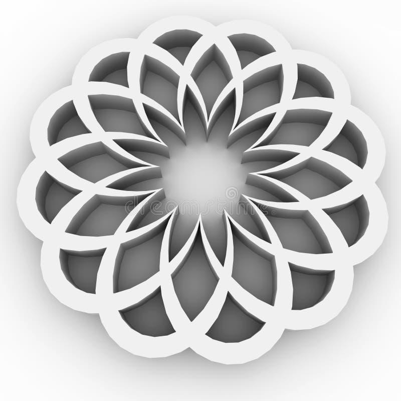 Download Round pattern stock illustration. Illustration of icon - 7201183