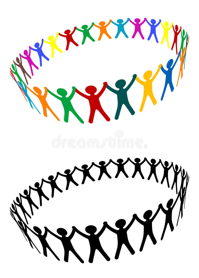 Download Round of peoples stock vector. Illustration of leadership - 15617373