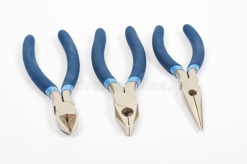 Round Pliers, Pliers And Nippers Stock Photos
