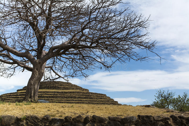 Download Round Pyramid Guachimontones Stock Image - Image: 40298021