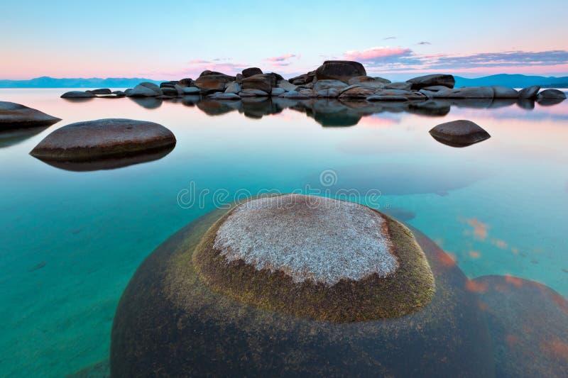 Download Round Rock, Sand Harbor, Lake Tahoe Stock Image - Image: 25540363