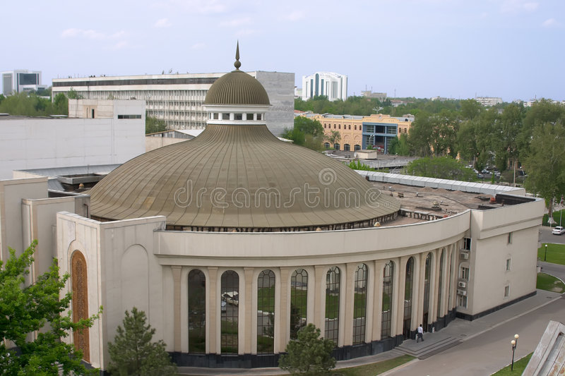 Download Round roof stock photo. Image of city, tashkent, home - 4937092