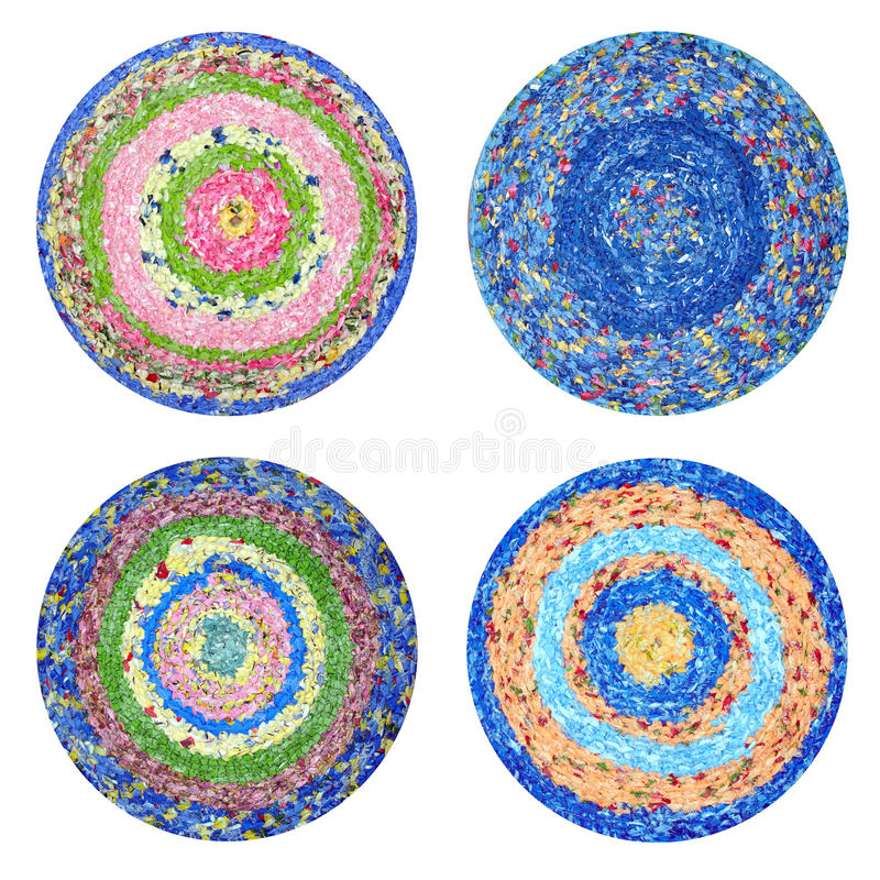 Download Round rugs Handmade stock image. Image of bright, colorful - 24935235