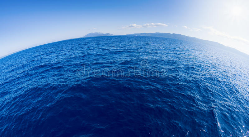Round Sea Stock Images