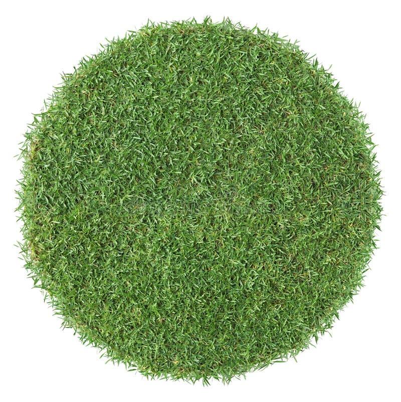Round shape grass stock photography