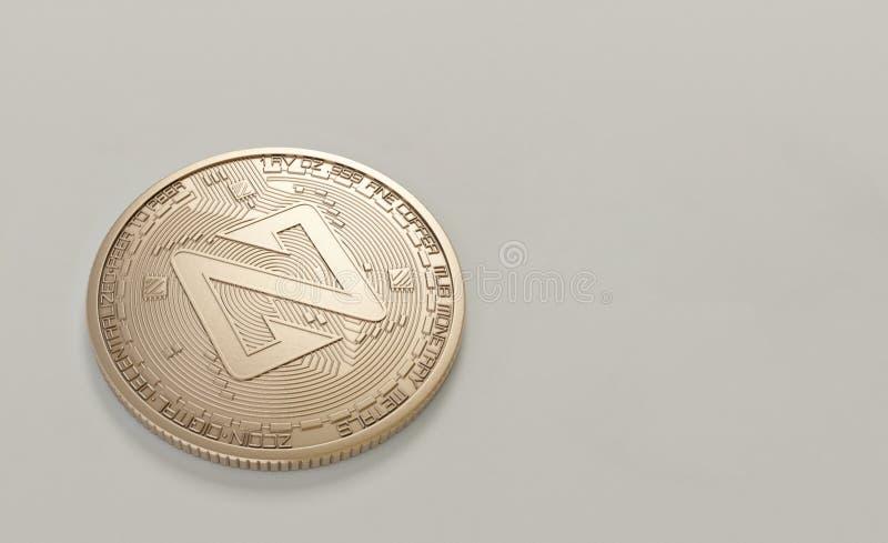 Round Silver-colored Coin stock photos