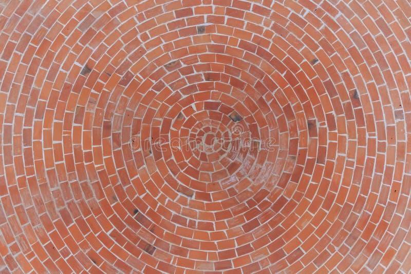 Round stone pavement pattern stock photo