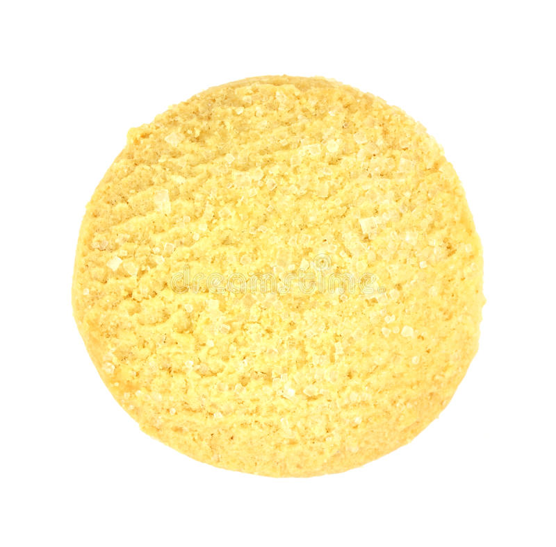 Download Round Sugar Cookie stock photo. Image of curb, golden - 14284290