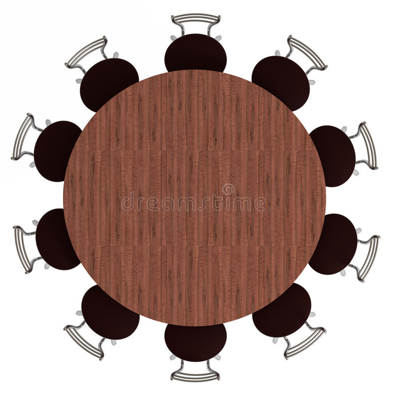 download round table and chairs top view isolated stock illustration of shape table and chairs top view r47 and