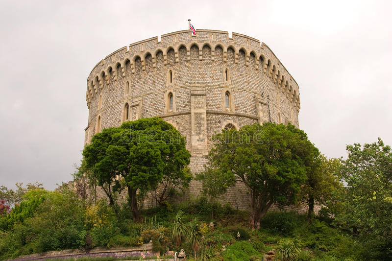 Download The Round Tower Of Windsor Castle Stock Image - Image: 12793939