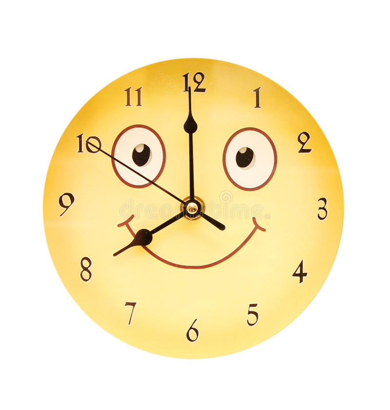 Download Round toy clock stock photo. Image of smile, number, color - 19661046