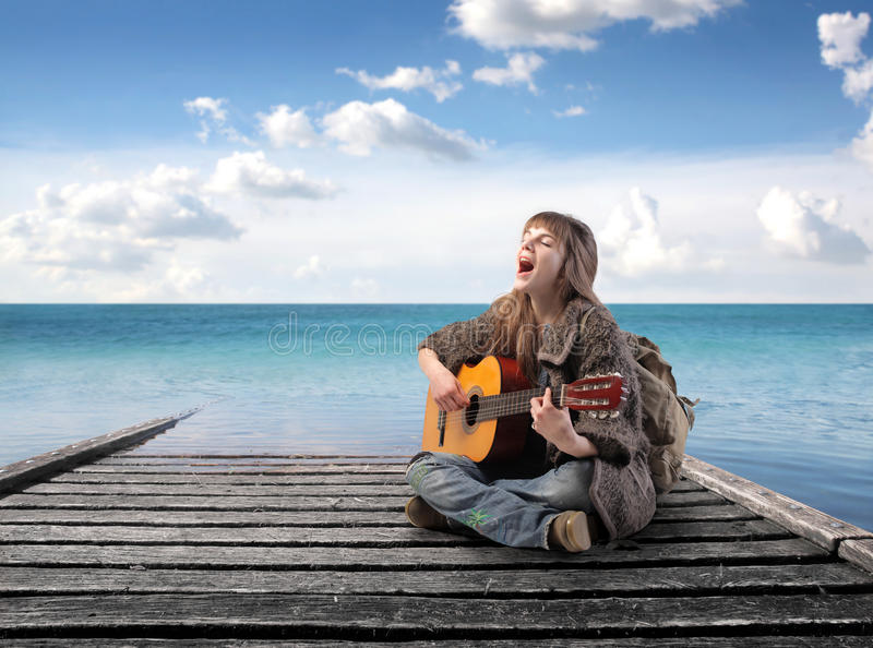 Download Round tripping stock image. Image of musician, sing, modern - 17817709