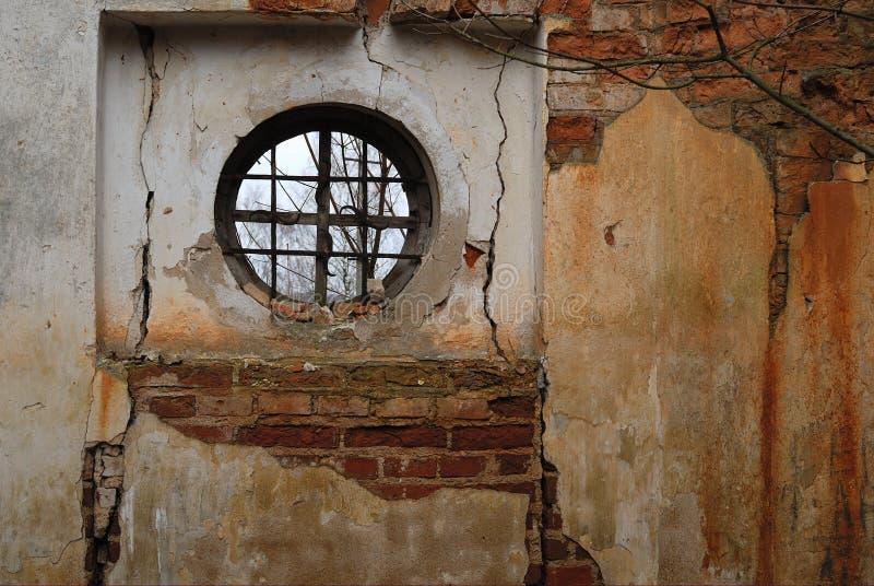 Download Round window stock image. Image of ruin, indoor, belarus - 11263313