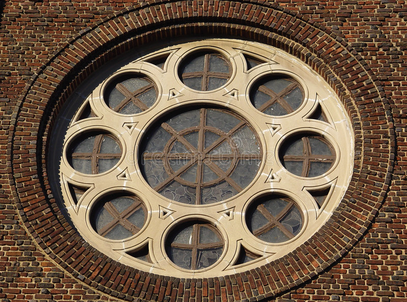 Download Round Window stock photo. Image of building, architecture - 48080