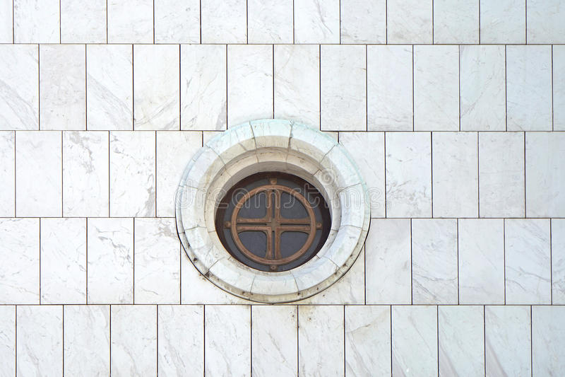 Round Window royalty free stock image