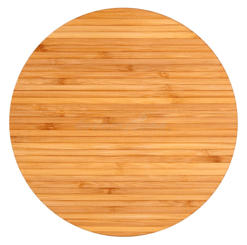 Download Round wooden board stock image. Image of wooden, bamboo - 18709249