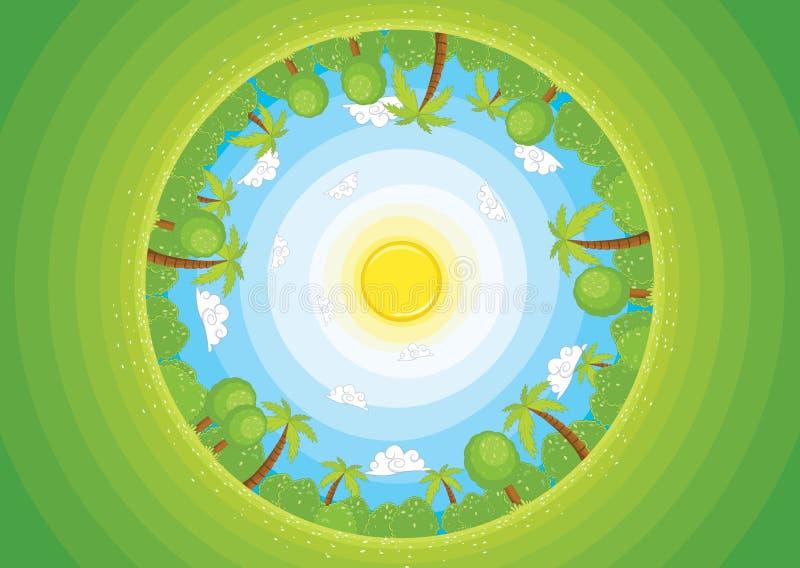 Download Round World II Vector Illustration Stock Vector - Image: 25428903