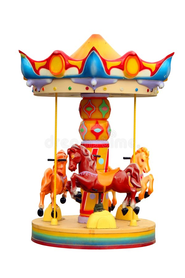 Download Roundabout stock image. Image of fair, wheel, amusing - 4171717