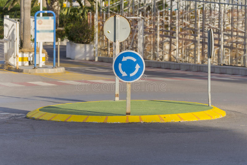 roundabout στοκ φωτογραφίες
